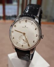 Orologio Vintage Zenith cal.106 manuale anni 60 acciaio diametro 34 mm Usato