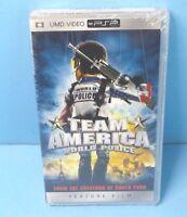 Team America World Police (UMD, 2005, Widescreen) PSP BRAND NEW FACTORY SEALED