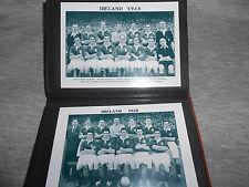 IRELAND - NORTHERN IRELAND FOOTBALL TEAM PHOTO ALBUM (1922-1984)