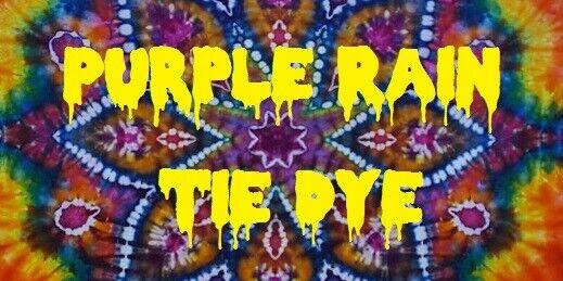 Stickers to Go Purple Rain Tie Dye