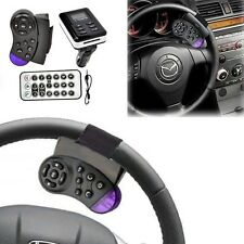 Bluetooth LCD Car Kit MP3 Player FM Transmitter Steering Wheel USB SD MMC Remote