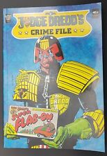 Judge Dredd Crime File Vol 2  2000 AD TPB / Graphic Novel, 1989
