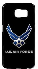 US Air Force Logo Army Black Case Cover for Samsung Galaxy S6 S5 S4 S3 Note2 3 4
