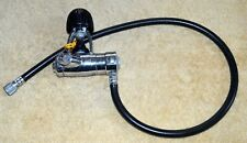 US DIVERS AQUA-LUNG CALYPSO VI FIRST STAGE SCUBA DIVE REGULATOR WITH HOSE