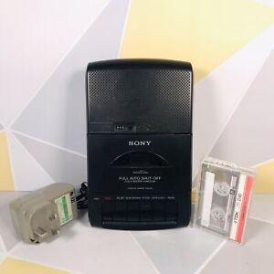 Vintage Sony TCM-939 Portable Cassette Player/Recorder W/ Mains + Tape ⭐️VGC