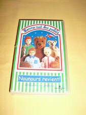BONNE NUIT LES PETITS Nounours Revient ! VHS 23 épisodes
