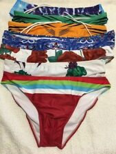 Unbranded $10.00 men's swimwear briefs, various colours and sizes
