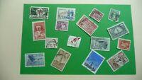 9959    -  timbres avec étampe de ville