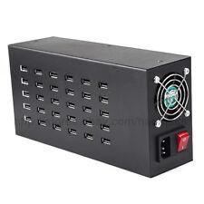 300 Watt 5V 60A 40 Port Fast USB Wall Charger Desktop Smart Charging Station Hub