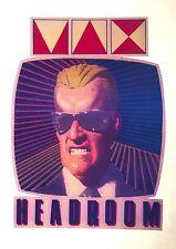 80's Max Headroom Michael Jackson Pepsi maximum back future VTG T-shirt iron-on