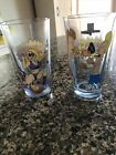 2011 MTV Network Beavis and Butt-Head 2 pc set Beer Glass Collectible nice!