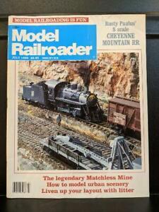 MODEL RAILROADER July 1989