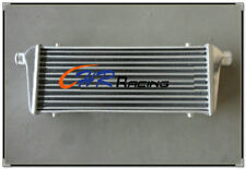 """Universal TURBO ALUMINUM INTERCOOLER 550 x 230 x65mm 2.25"""" IN/OUTLET Bar & Plate"""