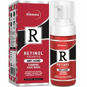 StBotanica Retinol Anti Aging Foaming Face Wash - No Parabens, Sulphate 120 ml