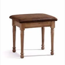 Oak Dressing Table Stool / Dresser Seat / Brand New Normandy Farmhouse