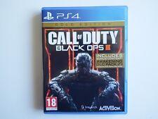 Call of Duty: Black Ops III: Gold Edition en PS4 en buenas condiciones (Dlc Sin Usar)