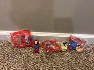 McDonald's Disney Parks Mickey & Minnie's Runaway Railway 1-3 Happy Meal toys