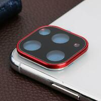 Metal Camera Lens Protective Case for iPhone 11 Pro 11 Pro Max Phone Accessories
