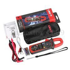 UNI-T UT204A Digital Handheld Clamp Multimeter Tester DMM Voltmeter Amp AC DC