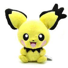 "Cute 7"" Rare Pichu Pokemon Plush Toy Big Ear for Nintendo Soft Children Stuffed"