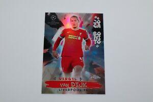 2020/21 - Topps Chrome Soccer - Virgil Van Dijk / Card #JB-12