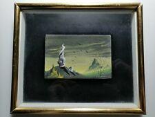 Piccolo dipinto del pittore Gino Krayer 1906 - 1971