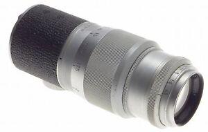 LIGHTLY USED HEKTOR 1:4.5/13.5cm M39 LTM LEICA 4/135mm CAMERA LENS CHROME LEITZ