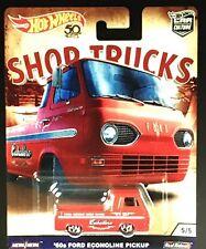Hot Wheels Ford Econoline Pickup 60 Shop Trucks 1/64