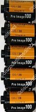 5 x Kodak  Pro Image 100 35mm 36 exposure Colour Print Film - 1st CLASS POST