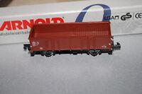 Arnold 5904 2-Achser Hochbordwagen El DB Spur N OVP