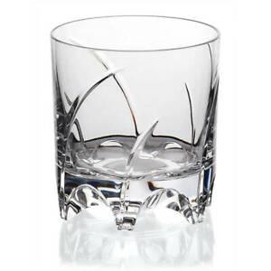 Whiskyglas Drehbecher German Roulette München Transparent Bleikristall 225 ml