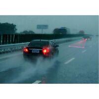 1pcs Car LED Laser Fog Light Rear Anti-Collision Brake Tail Warning Lamp Skull