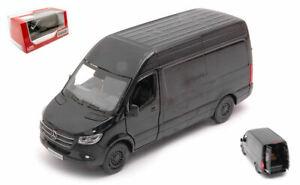 Modellauto Auto modelle 1:3 2 Kastenwagen diecast Mercedes Sprinter 2020 Black