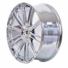 4 GWG Wheels 18 inch Chrome FLOW Rims fits ET20 PONTIAC GRAND PRIX GXP 2005-2008