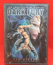 Pre-Viewed Dark Fury The Chronicles of Riddick Vin Diesel Animated Movie Dvd