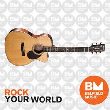 Cort L100F-OC Acoustic Guitar Folk Natural Satin Cutaway w/ Fishman Pickup - BM