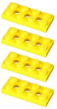Manca il mattoncino LEGO 3709b Yellow x 4 Technic Plate 2 x 4 con fori