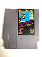 Gum Shoe GUMSHOE ORIGINAL NINTENDO NES GAME TESTED + Working & AUTHENTIC!