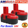 2X 2.0AH Ni-Cd Battery 18V for Bosch BAT180 BAT181 BAT025 BAT026 Cordless Drills