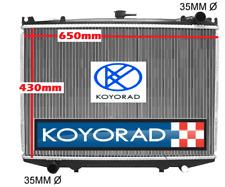 Radiator Nissan Terrano D21 1986-93 2.5L 2.7L Manual Diesel / Turbo Diesel Koyo