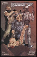 Robocop Killing Machine 1 One-Shot Comic Jacen Burrows cvr art Ltd 1500 Variant