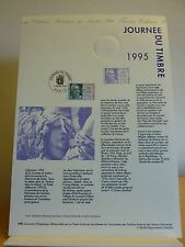 Premier jour *  Lot de 8 fiches Thème La journée du timbre et le salon du timbre