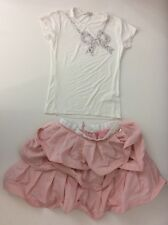 Miss Grant Pink Skirt & Top Age 9 Years Size 36 128/134