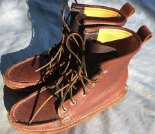 Quoddy Men's Leather Grizzly Boot Size 9.5 EUC