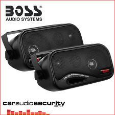 Boss AVA6200 - 3 Way Box Type Enclosed Shelf Speaker 160 Watts