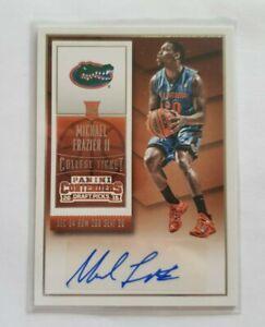 NBA Panini Contenders Draft Picks Rookie AUTO RC Card - Michael Frazier ll 🔥