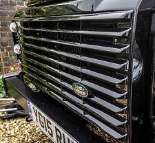 Land Rover Defender Santorini Black Front Grille - Uproar 4x4