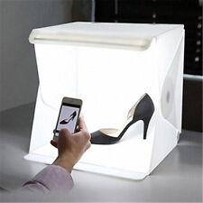 Mini Portable Photo Studio Photography Backdrop LED Lighting Tent Cube Box Kit
