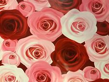10) 10x13 PINK & Red Roses Designer Mailers Poly Shipping Envelopes Boutique Bag