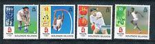 Solomon Is 2008 Beijing Olympics set SG1246/49 MNH